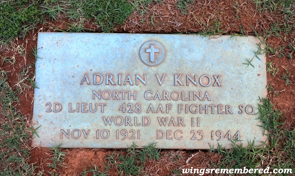 Vernon Knox gravesight