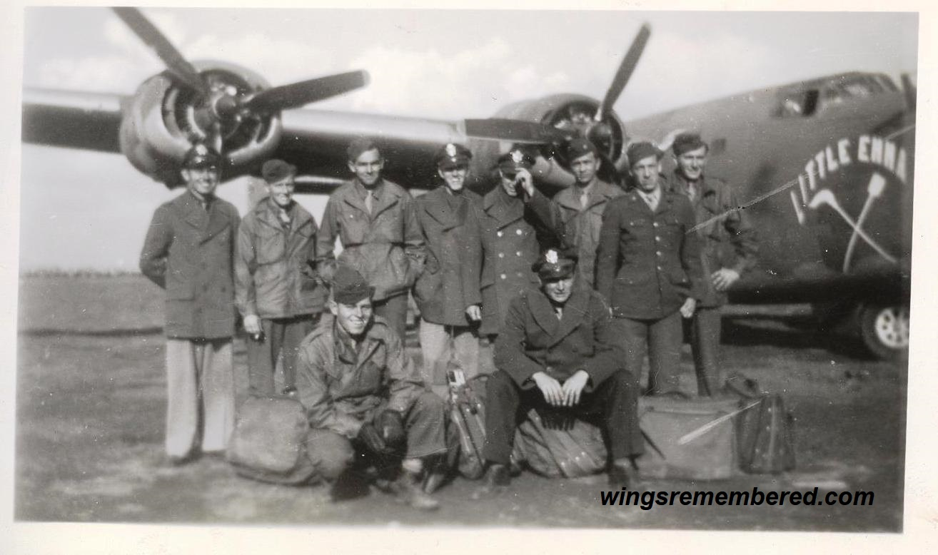 George Kavanaugh and His Crew 1944
