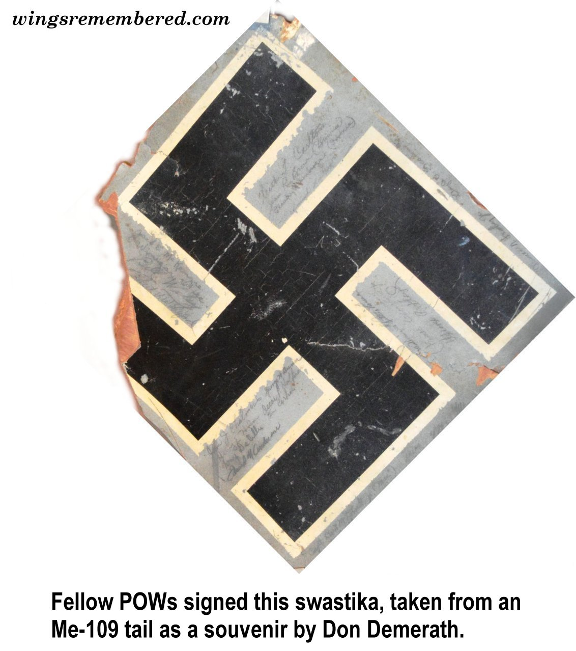 swastika caption